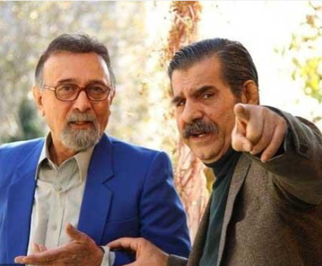 واکنش الهام پاوه نژاد به خبر فوت عزت الله مهرآوران /عکس