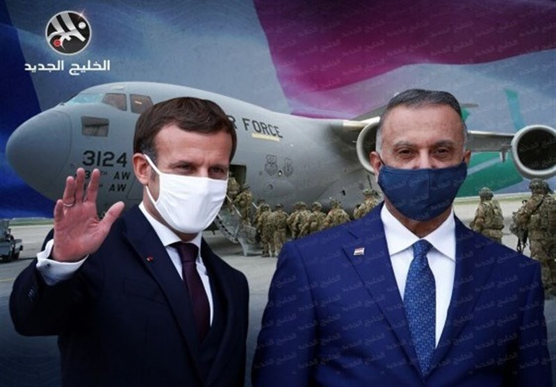 خودنمایی فرانسویها در عراق همزمان با فشار برای اخراج آمریکا