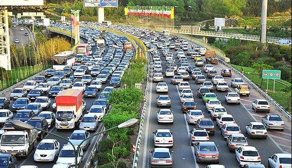 وضعیت ترافیکی معابر بزرگراهی تهران 3 مهر 1400