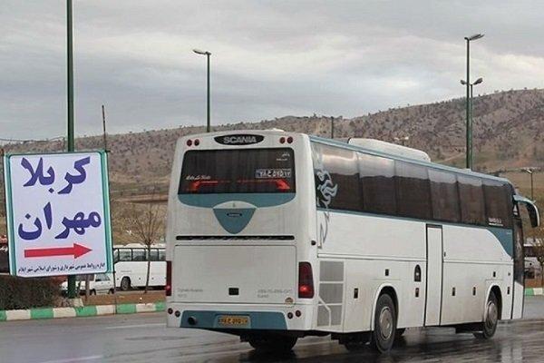 مرز مهران در اربعین98