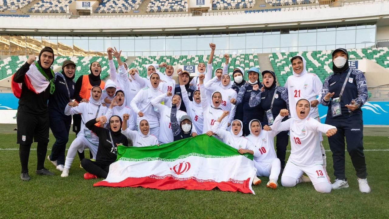 واکنش AFC به صعود بانوان ایران به دور نهایی جام ملتها