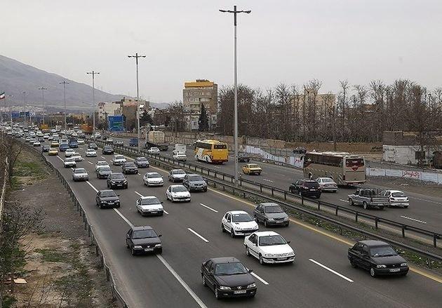 وضعیت راههای کشور در ۲۰ شهریور ماه/ افزایش تردد در محورهای برون شهری