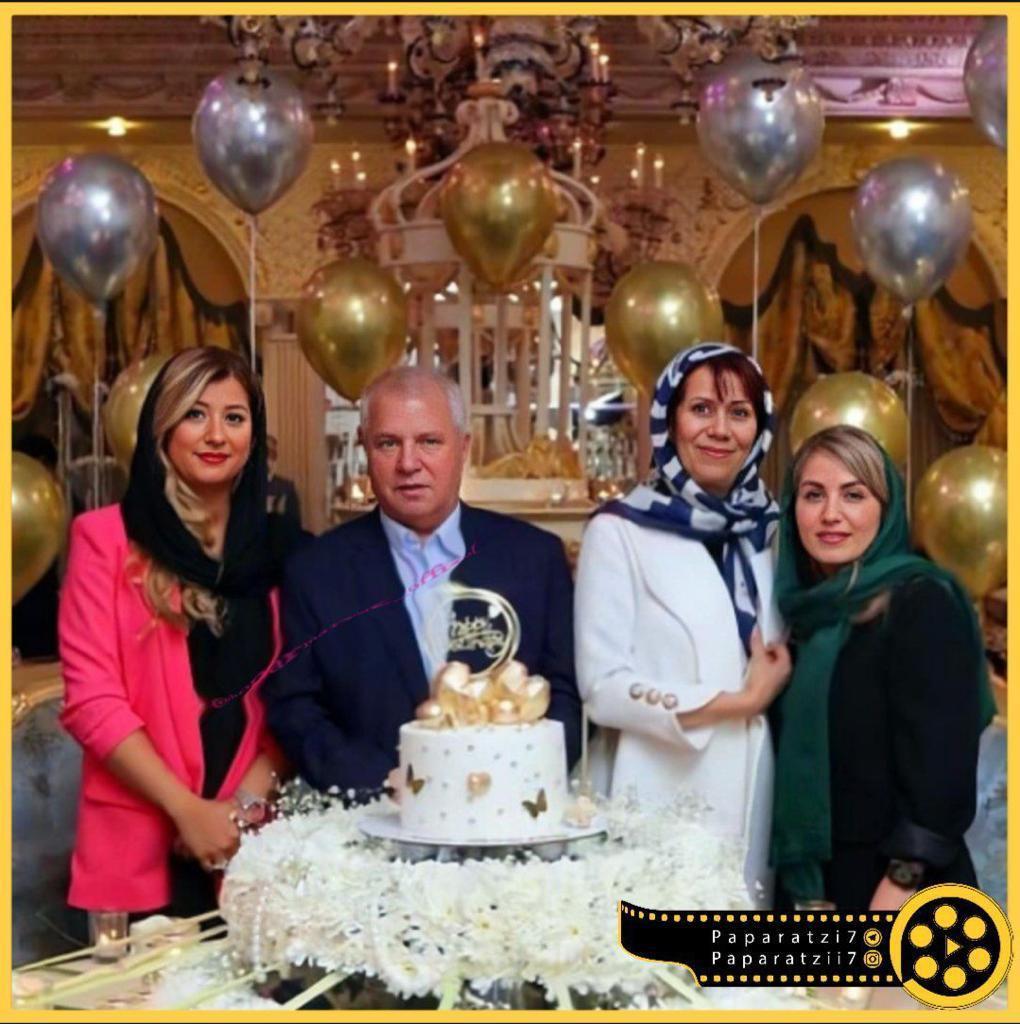 جشن تولد همسر علی پروین