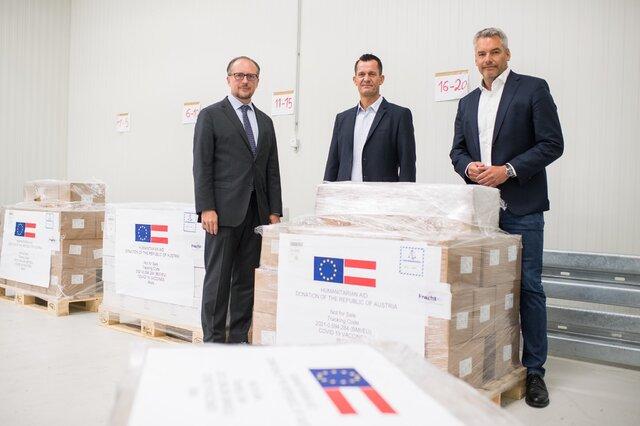 اتریش یک میلیون دوز واکسن به ایران اهدا کرد