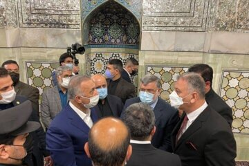 الکاظمی به مشهد سفر کرد