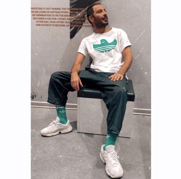 ست جذاب نوید محمدزاده از یک برند خاص /عکس