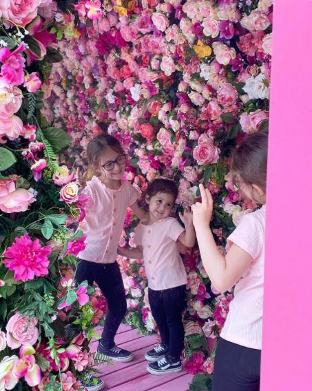 گلهای باغ زندگی شاهرخ خان در میان گلستان /عکس