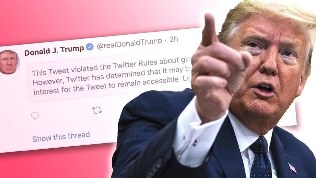 تلاش ترامپ برای بازگرداندن حساب توئیتریاش