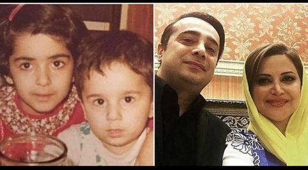 کمند و سپند امیرسلیمانی از کودکی تا به امروز /عکس