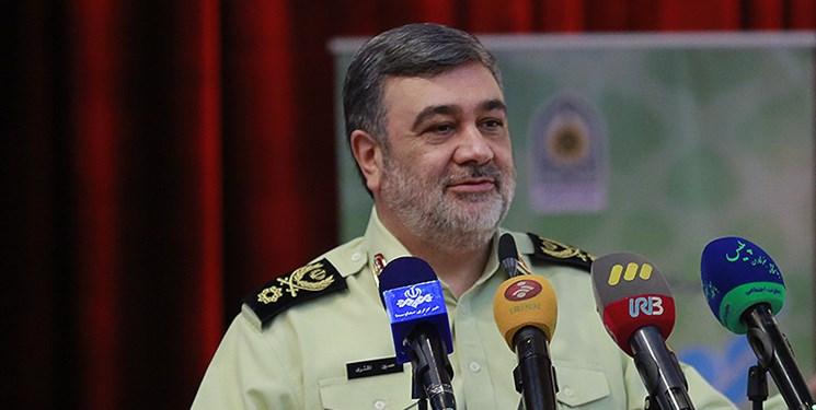سردار اشتری: اعزام نیرو و تجهیزات لازم به مرزهای کشور
