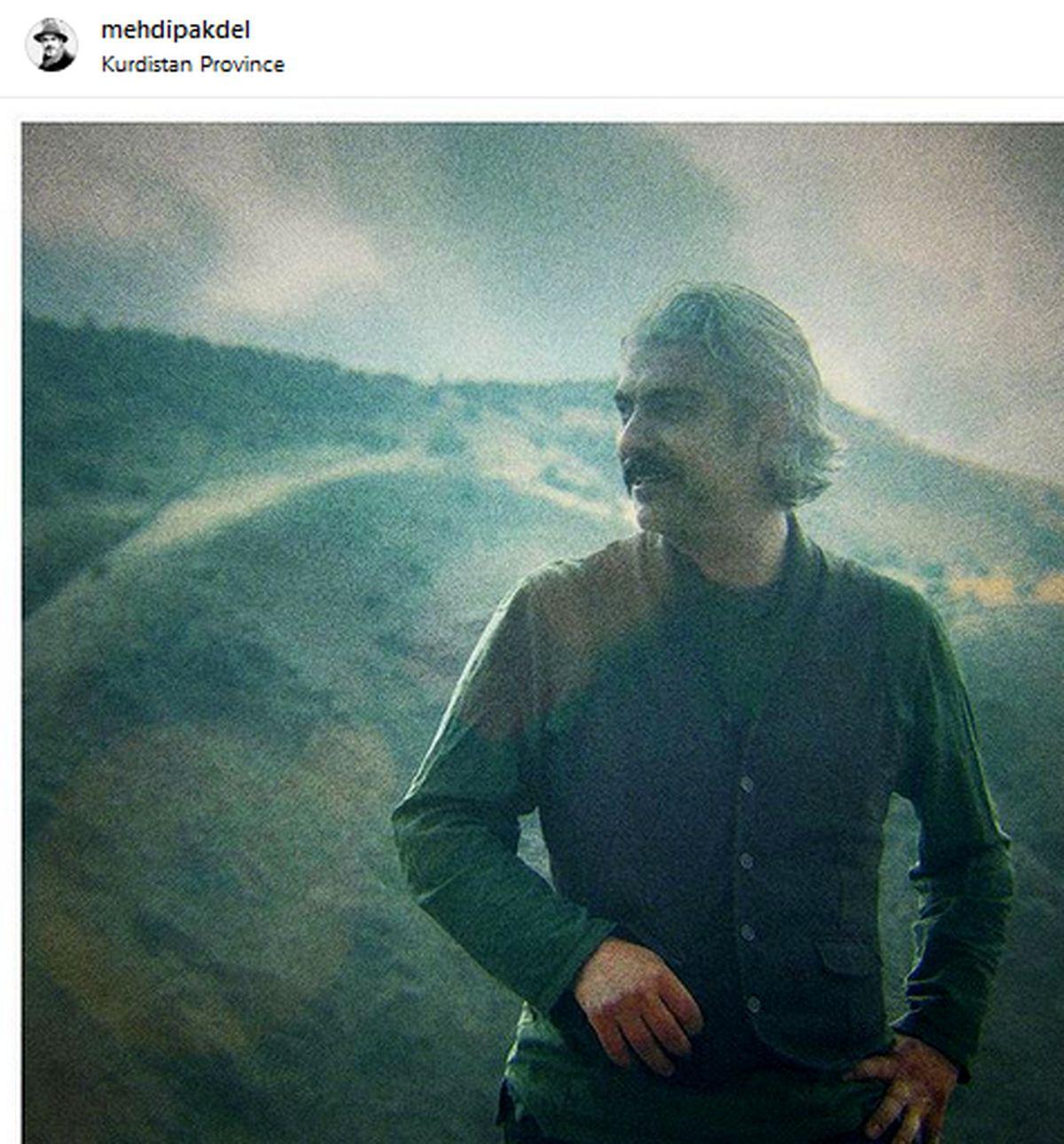 مهدی پاکدل با ظاهری که تاکنون ندیدهاید! /عکس