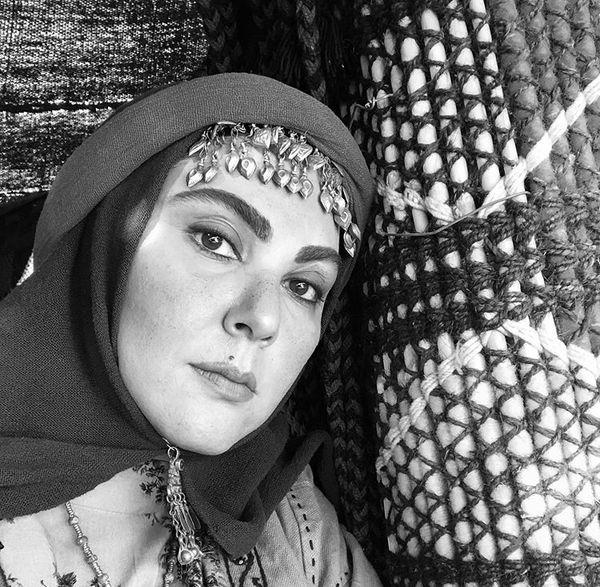 لاله اسکندری در نمایی از سریال جدیدش /عکس