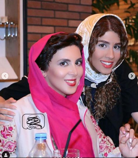 شباهت عجیب لیلا بلوکات و خواهرش /عکس