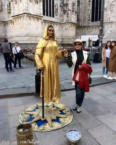 تفریحات لیلا بلوکات در سفرش به ایتالیا /عکس