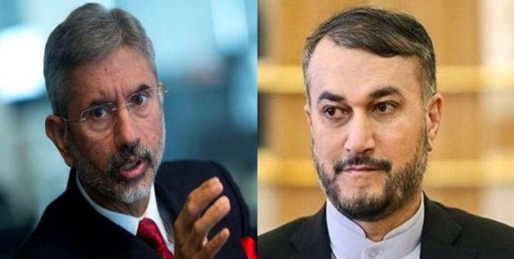 توافق وزرای خارجه هند و ایران برای تقویت روابط دوجانبه