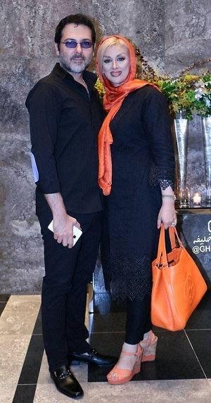 رونمایی کوروش تهامی از همسرش /عکس