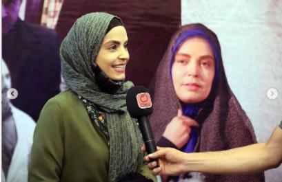 سپیده خداوردی در نشست خبری عوامل صبح آخرین روز /عکس