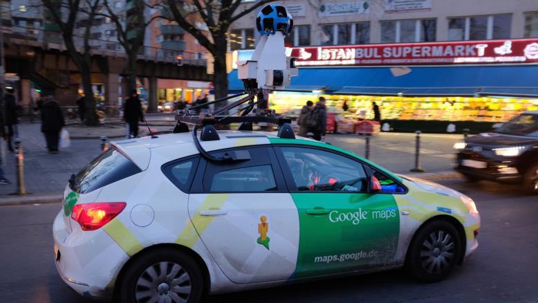 خیابان نمای گوگل