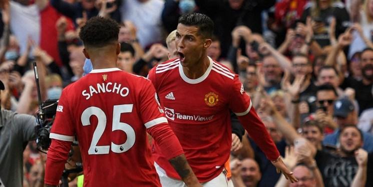 واکنش کریستیانو رونالدو به گلزنی دوباره برای منچستر یونایتد