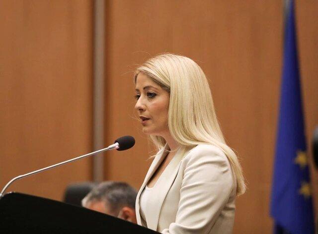 رئیس زن پارلمان قبرس