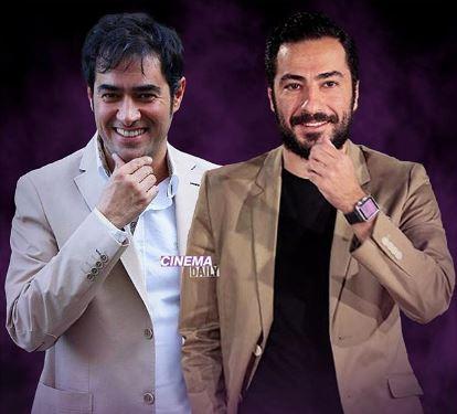 نوید محمدزاده و شهاب حسینی