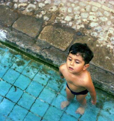 پیام رضا کیانیان به مناسبت سالروز تولد پسرش /عکس
