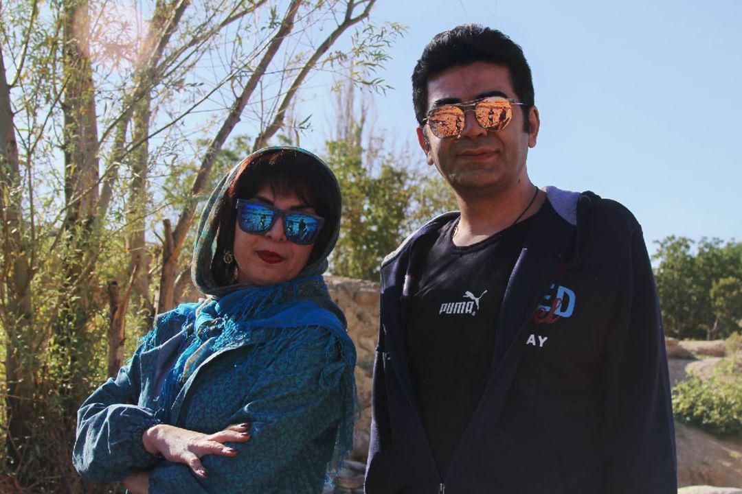 تبریک تولد فرزاد حسنی به سبک نیلوفر لاری پور+ عکس