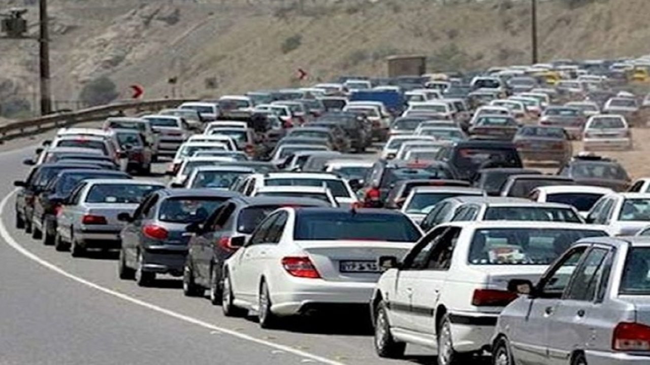 آخرین وضعیت ترافیکی جاده های کشور امروز سه شنبه 20 مهر 1400/ترافیک سنگین در آزادراه قزوین - کرج