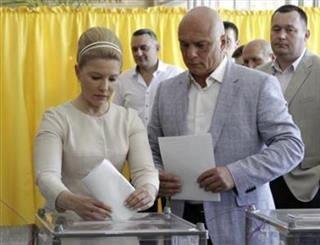 شکل و شمایل جدید تیموشنکو در انتخابات اکراین