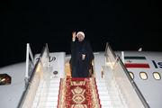 بازگشت روحانی به تهران