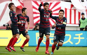 پیروزی رقیب پرسپولیس در لیگ ژاپن