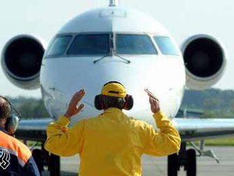 برخورد ۲ هواپیما در فرودگاه مهرآباد