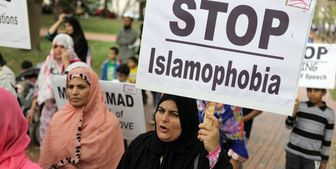 تظاهرات مسلمانان در فرانسه در اعتراض به موج اسلام هراسی