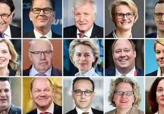 وزرای کابینه جدید مرکل چه کسانی هستند؟