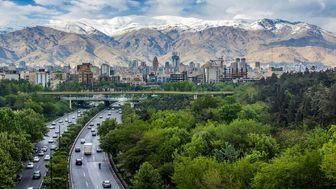 وضعیت هوای تهران در ۲۵ شهریور ماه