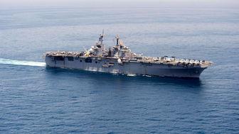 مرگ یک ملوان آمریکایی بر عرشه کشتی