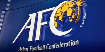 اضافه شدن نام ایران به رده بندی کنفدراسیون فوتبال آسیا+عکس
