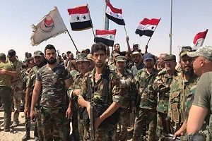 ارتش سوریه وارد رقه شد