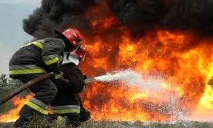 آتش سوزی کارگاه کفاشی