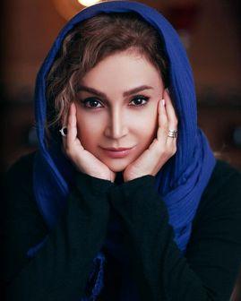 عینک خاص شبنم قلی خانی در باغ بهاری /عکس