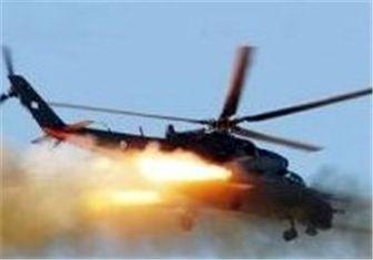 حملات هوایی به برخی از مراکز داعش