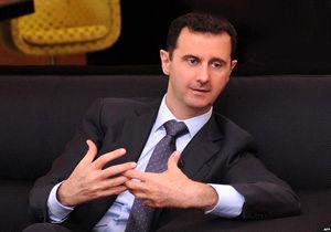حضور بشار اسد در مراسم نماز عیدفطر / عکس