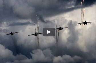 تشدید حملات روسیه در سوریه / فیلم