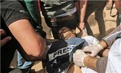 شلیک اسرائیل به ۶ خبرنگار در تظاهراتهای غزه