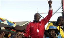 رئیس جمهور جدید کنیا سوگند یاد کرد