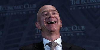 بزوس دوباره ثروتمندترین فرد جهان شد