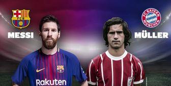 فوتبالیستهای رکورددار گل زده در طول یک سال میلادی+ عکس