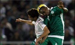 تساوی ایران و عربستان در نیمه اول