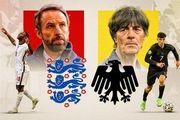 ترکیب تیمهای ملی انگلیس و آلمان
