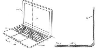 طراحی جدید اپل برای یک لپتاپ تاشو